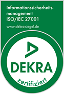 Projektspedition Dekra Siegel 27001